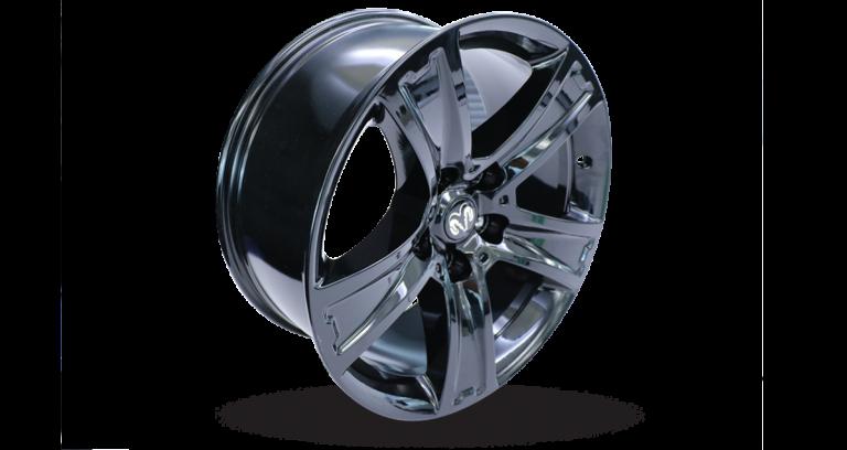 agt wheel metal rim black edition
