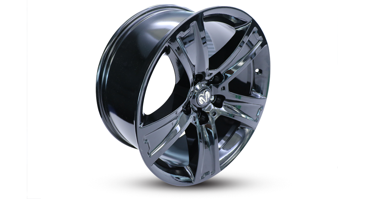 agt wheel metal rim black edition