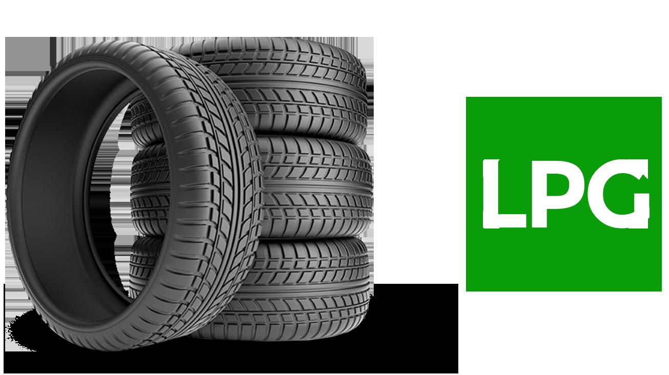 Wheel Tires LPG