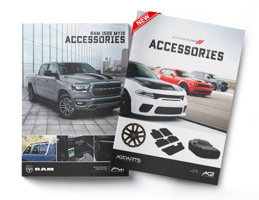 RAM Dodge official accessories Catalogue europe AGT